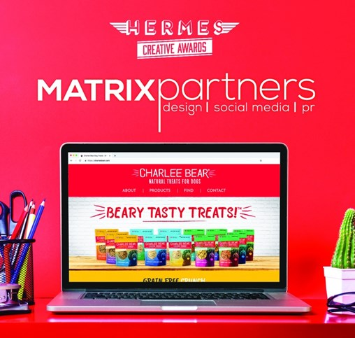 Matrix Partners Honored for Website Design