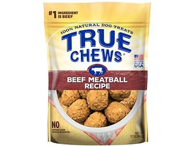 True Chews Meatball Recipe Dog Treats